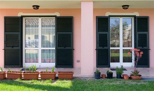 Borsari prodotti infissi pvc e alluminio porte in legno e blindate cancelli inferriate - Porte e finestre blindate ...